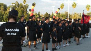 Working with youth to help them understand the dangers of drugs through the police run Jeopardy program in Van Nuys, CA